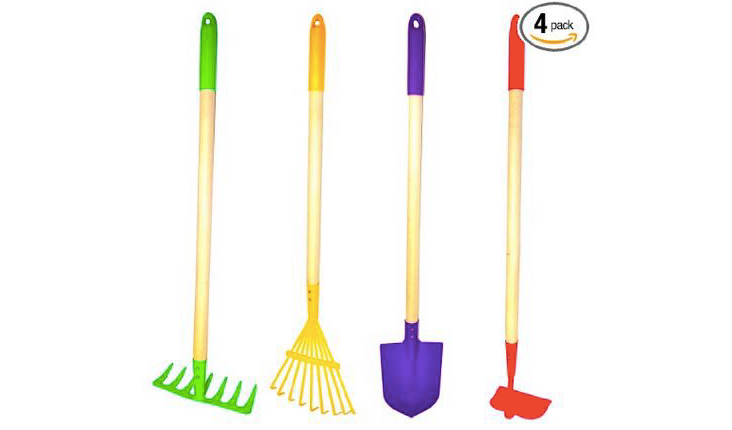 Amazon g f 10018 justforkids kids garden tools set only for New gardening tools 2016