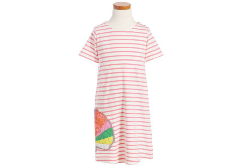 Nordstrom mini boden stripe appliqu dress only for Mini boden mode