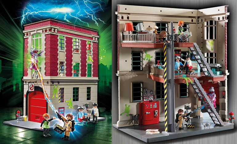 amazon playmobil ghostbusters firehouse only reg save a la mode. Black Bedroom Furniture Sets. Home Design Ideas