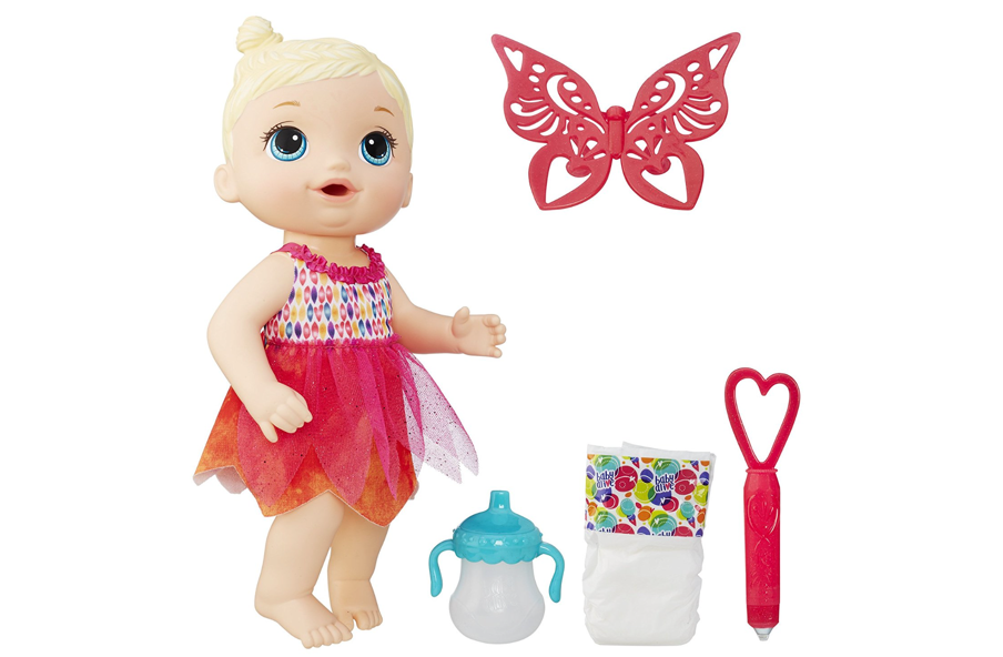 Amazon Baby Alive Face Paint Fairy Blonde African