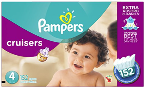 Hot Deal Free Pampers Wipes With Size 4 Pampers Cruisers